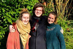 AG-FWD: Kathrin, Max und Ronja