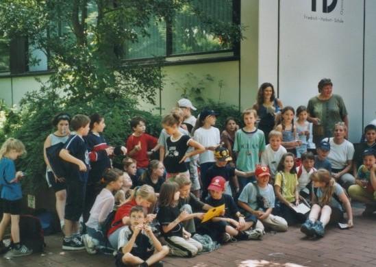 Grundschüler beim 10. PanamaLauf