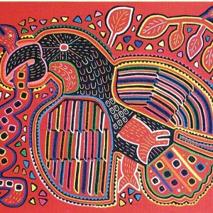 K_Adler - 'Mola' des indigenen Stamm Kuna Yala