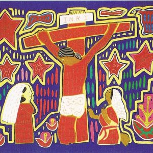 K_Ostern - Mola des indigenen Stamm Kuna Yala