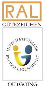 RAL Gütezeichen Internationaler Freiwilligendienst Outgoing