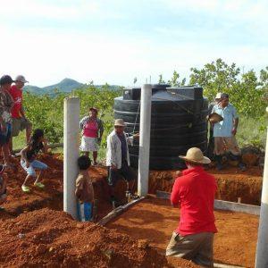 Bau Tank Trinkwasser