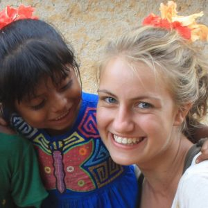Koordinatorin des Freiwilligenprogrammes Ronja Reyes Henriquez