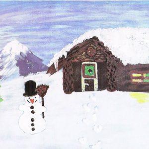 W_Spuren im Schnee - Erika Diete
