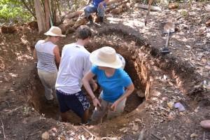 12-02 El Rosario Trinkwasserleitung Kathrin Katrin Aaron