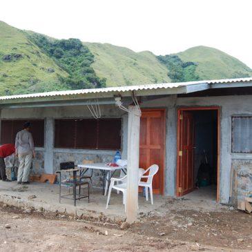 Arbeiten in Piedra de Fogón kurz vor Abschluss!
