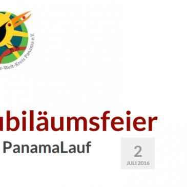 Jubiläumsfeier zum 25. PanamaLauf