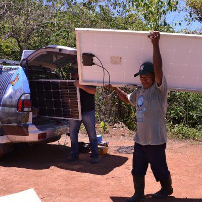 Installation Solaranlage